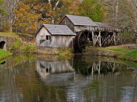 The Mabry Mill, near Meadows of Dan; Most photographed site on the Blue Ridge Parkway
